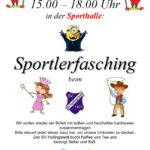 Sportlerfasching